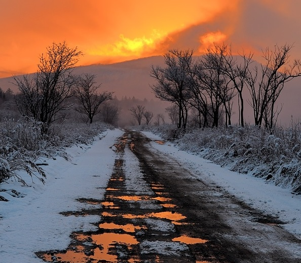 sunset on melting snow.jpg
